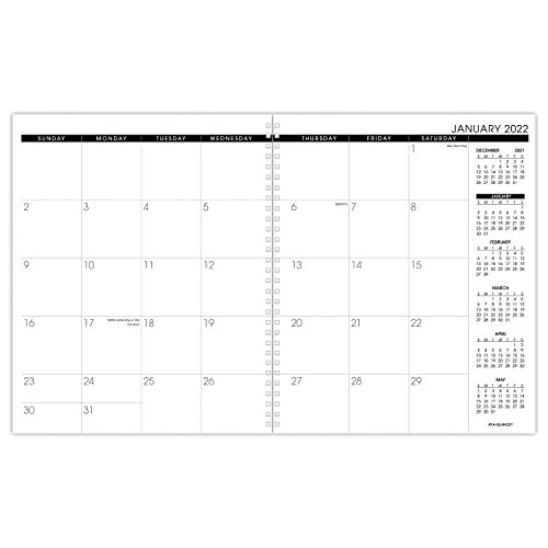 at-A-Glance Monthly Planner Refill, January 2022 - December 2022, Large Size, White (709237118)