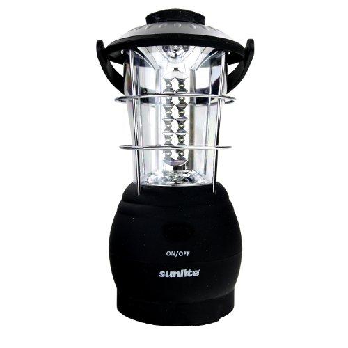 Sunlite 80685-SU L140 LANTERN 36 WHITE LED 36LED Gray Lantern by Sunlite