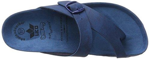 Lico Bioline Uni, Zapatillas de Estar por Casa para Mujer Azul (Blau)