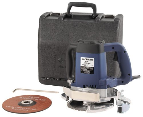 - Crain 812H Super Saw 13 Amp Undercut Saw with Wood and Masonry Blades
