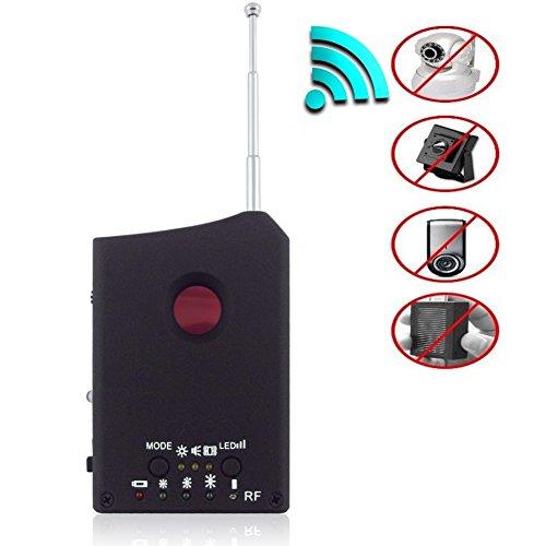 Mofek GSM Device Finder Wireless Signal RF Lens Bug Detector Hidden Camera Laser Lens Detector Spy Cam Finder