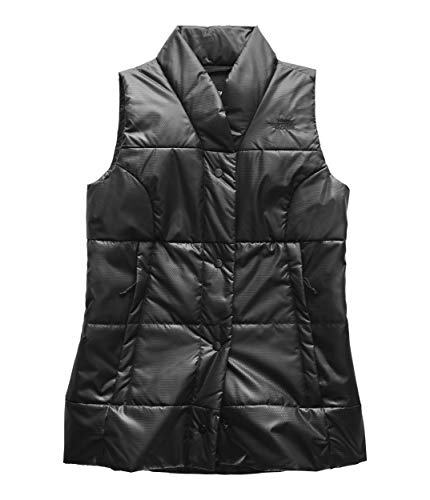 (The North Face Women's Femtastic Insulated Vest TNF Black X-Large)