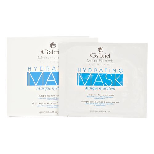 Gabriel Organics, Facial Mask Sheet - Hydrating , Vegan, 1 count (1 Gabriel)
