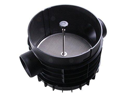 PLURAFIT Filter mit Filtersieb, Erdeinbau