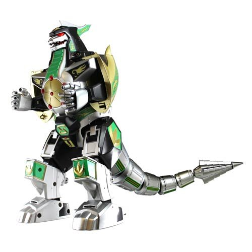 Power Rangers Legacy Green Dragonzord (Mighty Morphin Power Rangers Zords)