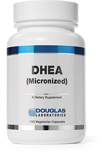 Douglas Laboratories - DHEA 10 mg Micronized - Supports Immunity, Brain, Bones, Metabolism and Lean Body Mass* - 100 Vegetarian Capsules
