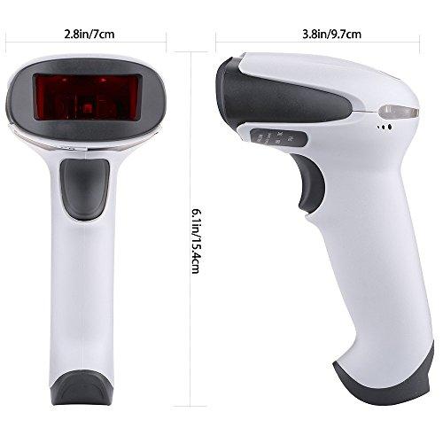 Barcode Scanner, BEVA USB Laser Bar Code Scanner Automatic Wired Handheld Barcode Reader by BEVA (Image #3)