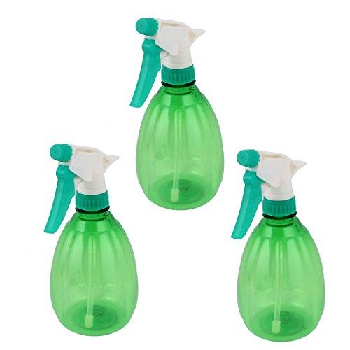 Nozzle-Head-Hand-Trigger-Water-Sprayer-Spray-Bottle-500ml-3pcs-Green