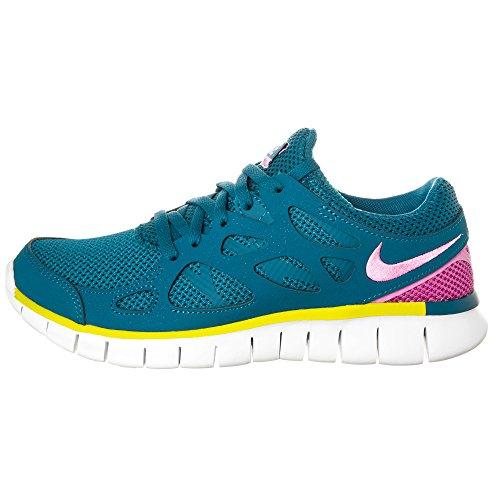 Nike Wmns Free Run 2 Ext Damen Outdoor Fitnessschuhe Grau Blau