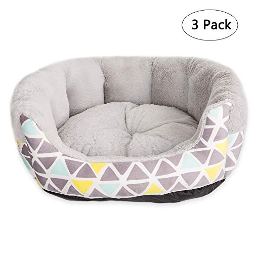 Hollypet Case of 3 Pieces Large Dog Bed Self-Warming Pet Bed for Cats Puppy Nest Sleeping Bag, Set of ()