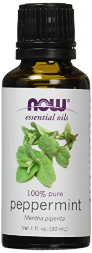 NOW Peppermint Oil, Pure 100% Essential Oil, 1 Ounce.