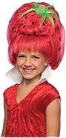 Girls Strawberry Tart Wig - Child Std.