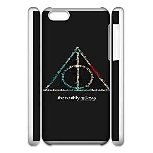 iphone5c Phone Case White Deathly Hallows WQ5RT7441533