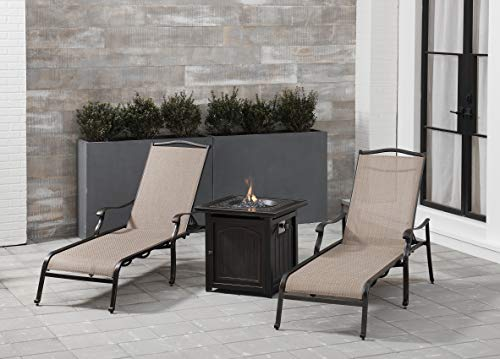 STRATHREC Strathmere Woven Reclining Lounge Chair, Cilantro Green