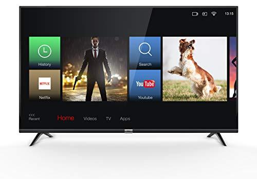 TCL 43DP602 TV 108 cm (43 inch) Smart TV, 4K, HDR, Triple Tuner, Alexa compatibel, Micro Dimming, T-Cast