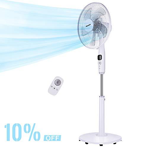 (PELONIS Oscillating Pedestal, Turbo Silence Stand Fan 16