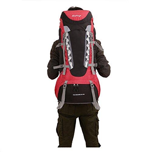 60L zaino da escursionismo/campeggio/escursionismo borsa/zaino/zaino da arrampicata/trekking zaino/zaino da viaggio per Alpinismo