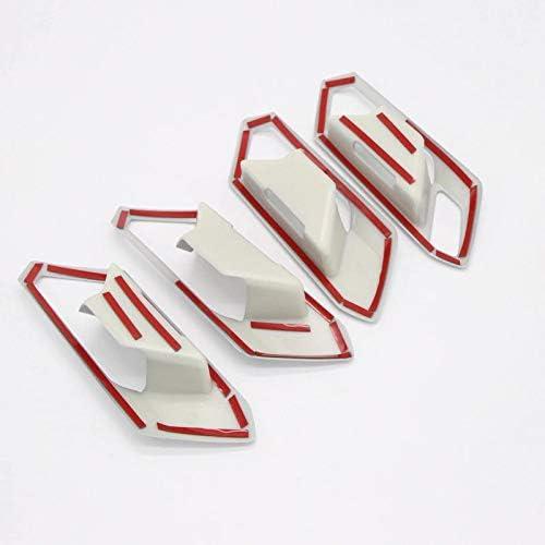 FFZ Parts Handgriffe Blende Abdeckung Rahmen Silber Matt Passend F/ür T-Roc