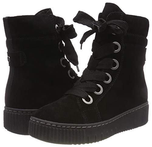 26227 black Women's 1 Black 21 Tamaris Combat Boots RvC4nqw