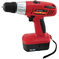 Gns80167 - Great Neck 18 Volt 2 Speed Cordless Drill At A Glance