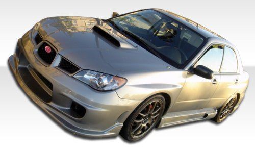 2006-2007 Subaru Impreza Duraflex Wings Kit - Includes Wings Front Bumper (104304), Wings Rear Bumper (103310), and Wings Sideskirts (103291). - Duraflex Body Kits