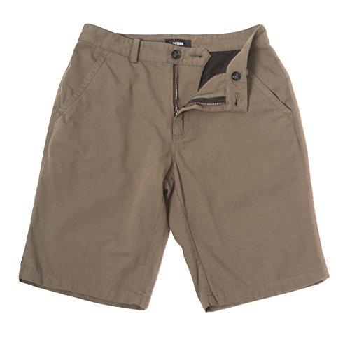 Men's Cotton Twill Cargo Shorts Outdoor Wear Lightweight(Khaki,32)