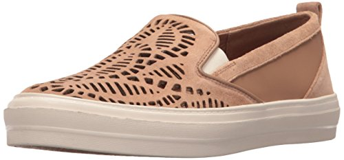 Nine West Women's Oletta Suede Fashion Sneaker, Natural Multi, 6.5 M US
