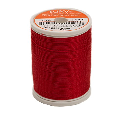 Sulky of America Sulky Cotton Thread 12 wt 330 yd Christm...