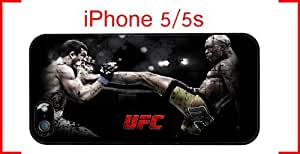 UFC iPhone 5 5s Case Hard Silicone Case by runtopwell