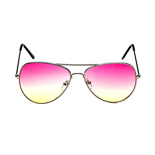 ses Mens Womens Retro Fashion Mirrored Lens Polarized Sunglasses Eye ()