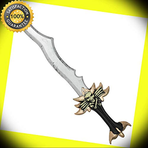 Aamon Prince of Wrath Soul Taker Foam Halloween Costume Pretend Play Sword perfect for cosplay outdoor -
