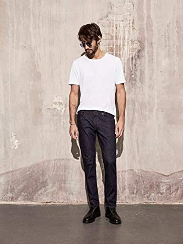 SELECTED HOMME Male Straight Fit Jeans 1002 -: Odzież