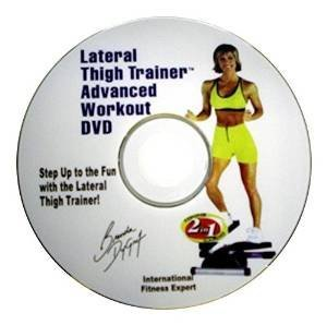 DVD for Lateral Thigh Trainer More Motivation + ()