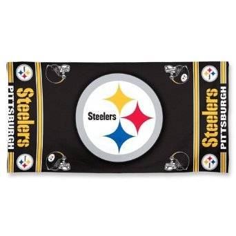 Wincraft NFL Pittsburgh Steelers Fiber Beach Towel, 9lb/30 x ()