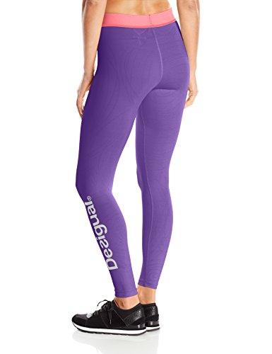 Desigual Femme Legging Violet Sport Naranja 4qSqwfF