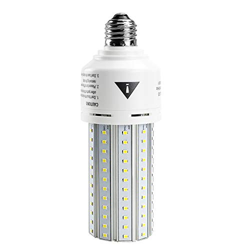 500W Equivalent LED Corn Light Bulb Super Bright 7500 Lumen 5000K Daylight White E26/E27 Medium Base for Indoor Outdoor…