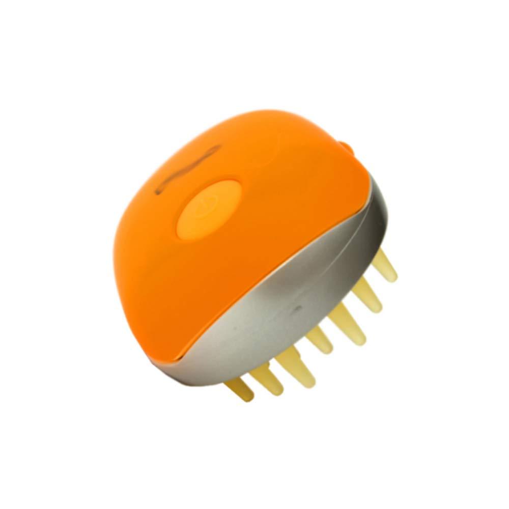 マッサージャー - : 多機能電動子午線ヘッドコームライトマッサージ B07NNZVBCM (色 : Orange) (色 B07NNZVBCM Orange, マイヅルシ:5945d69a --- lembahbougenville.com