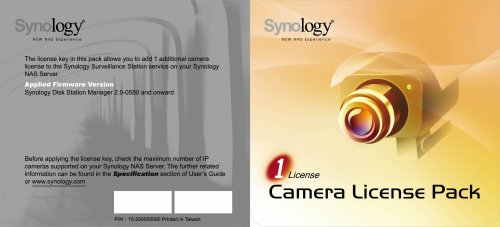 synology-ip-camera-license-pack-for-1-clp1