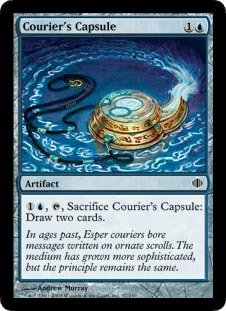Magic: the Gathering - Courier's Capsule - Shards of Alara - (Couriers Capsule)
