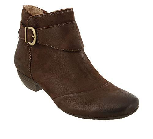 Taos Footwear Women's Addition Chocolate Oiled Boot 10 M - Chocolate Dark Footwear