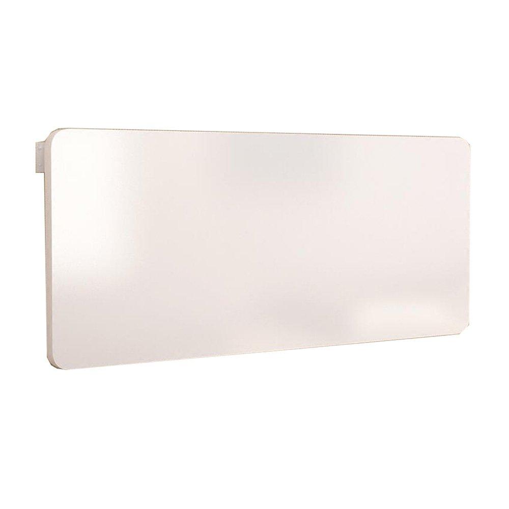 XIAOLIN 家庭用シンプルな壁のテーブルの折り畳みのテーブルのダイニングテーブル壁掛けテーブルの壁のテーブルの壁のテーブルコンピュータデスクのデスクの壁のテーブル厚い金属のブラケットの折り畳みのスペースを保存するオプションの色、サイズ (色 : 白, サイズ さいず : 100cm) B07DWJC9N1 100cm|白 白 100cm
