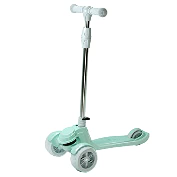 LJHBC Patinete Scooter de niños Altura Ajustable Fácil de ...