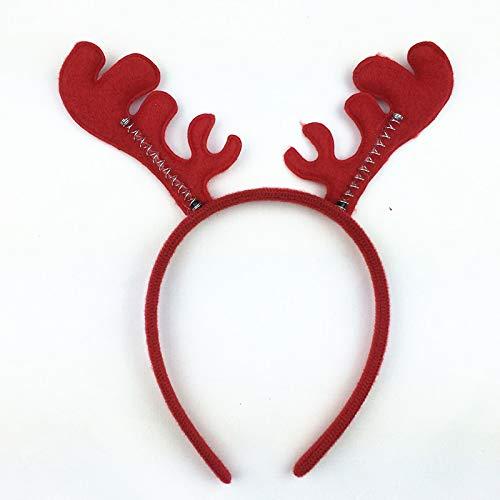 New 1pcs Christmas Headband Antlers Ear Hair Hoop