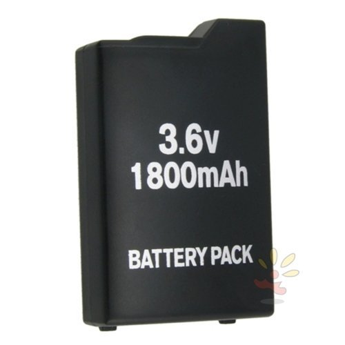 eForCity 2x LITHIUM 3.6V 1800MAH Replacement BATTERY PACK Compatible With SONY PSP 1000