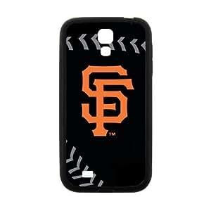 Fashion Popular Black Orange San Francisco Giants Baseball Team Sport Samsung Galaxy S4 I9500 Case Shell Cover (Laser Technology)