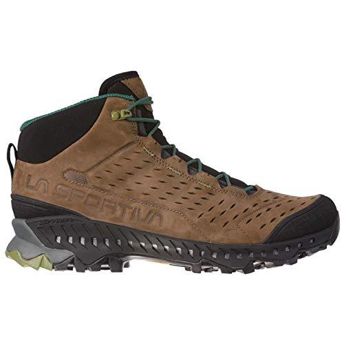 La Sportiva Pyramid GTX Hiking Shoe, Mocha/Forest, 44.5