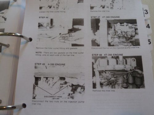 41ratgI5UfL case 1845c uni loader skid steer service manual j i case amazon