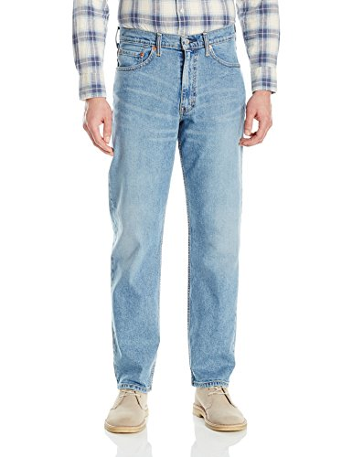 Fit Dark Jeans Blue - Levi's Men's 550 Relaxed-fit Jean, Clif - Stretch, 38X32