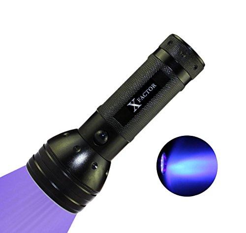 Xfactor HIGH Intensity 51 LED Ultraviolet UV LIGHT BLACK LIGHT FLASHLIGHT for LCD Glass Digitizer Repair, Dog & Cat Pet Urine Stain Detector, Scorpion Hunting, Counterfeits!! - Finder Uv Light