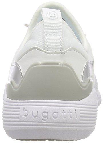 Donne Bugatti 2000 bianco Bianche Scarpe Su 442393026900 Delle Da Scivolare Tennis OUxZqqwHC